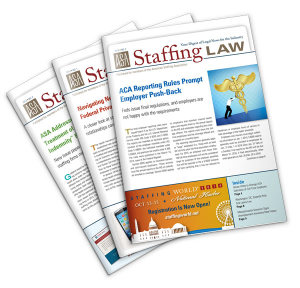 Staffing Law digest