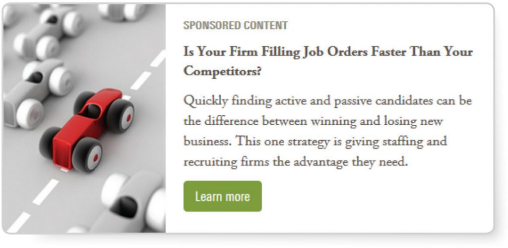 Sample Sponsored Content - Americanstaffing.net