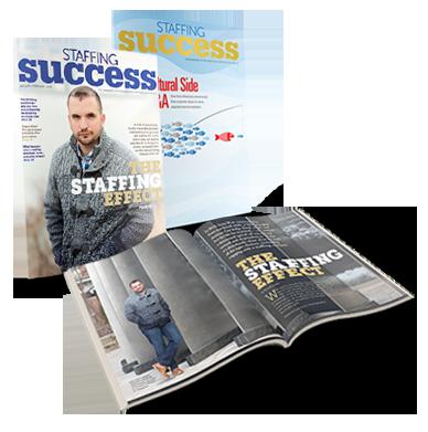 Staffing Success magazine