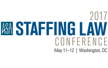 ASA 2017 Staffing Law Conference