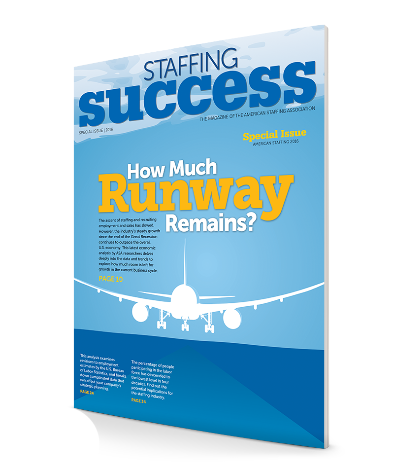 2016 Staffing Industry Economic Analysis