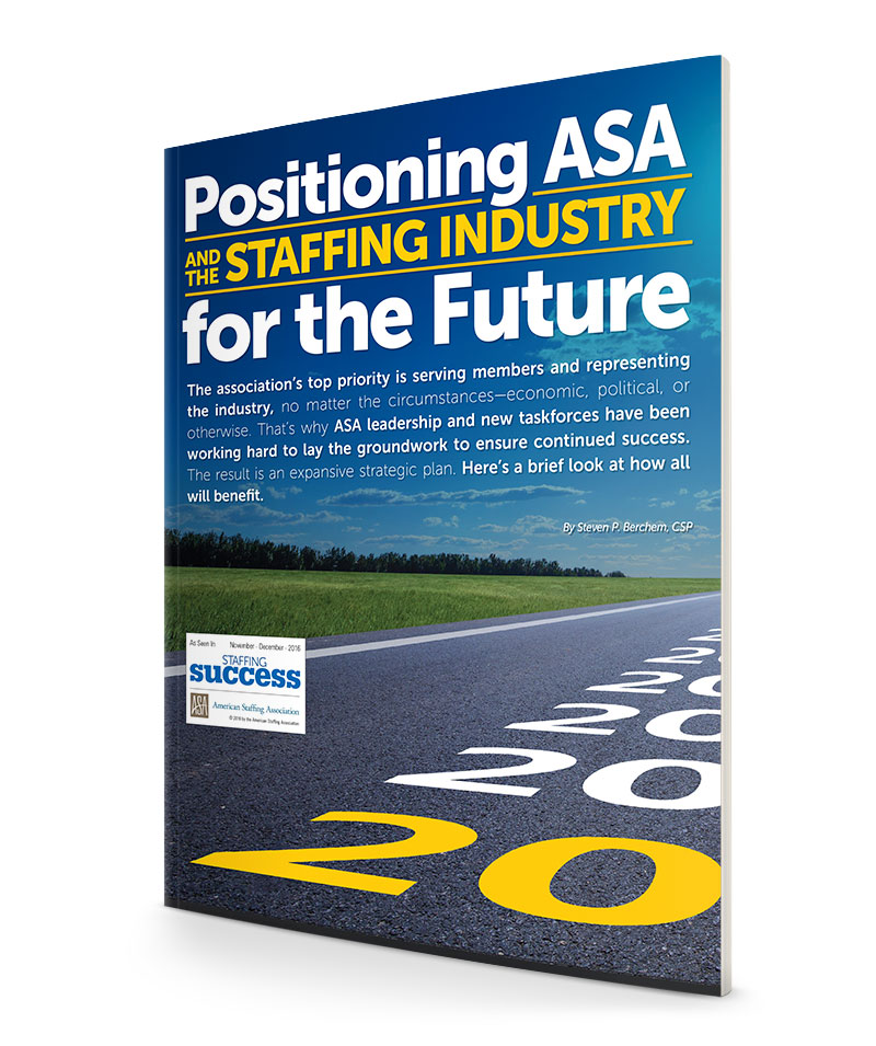 Positioning the Staffing Industry for the Future