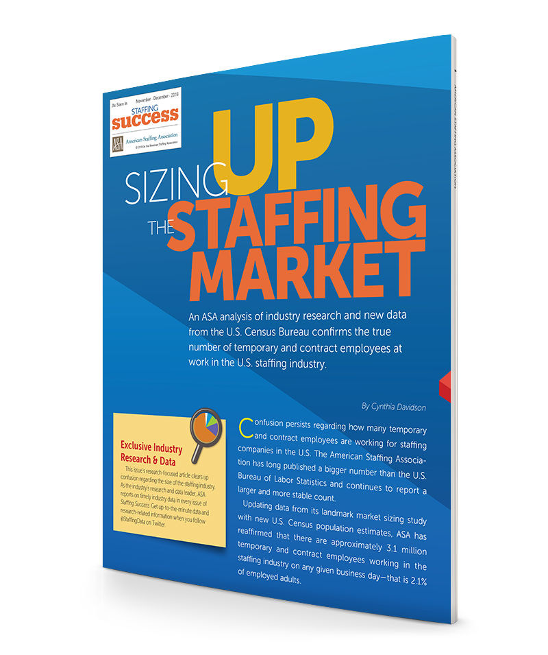 Sizing Up The Staffing Market