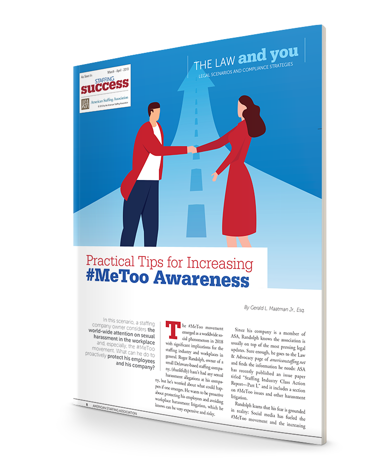 Practical Tips for Increasing #MeToo Awareness
