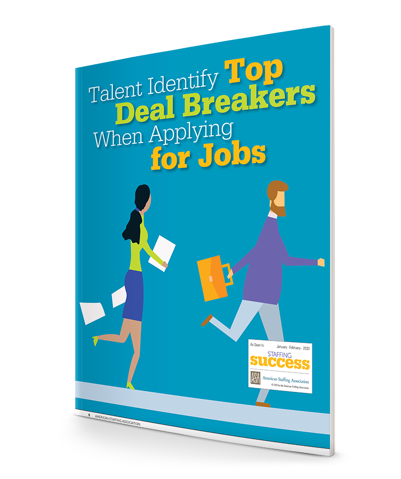 Talent Identify Top Deal Breakers When Applying for Jobs