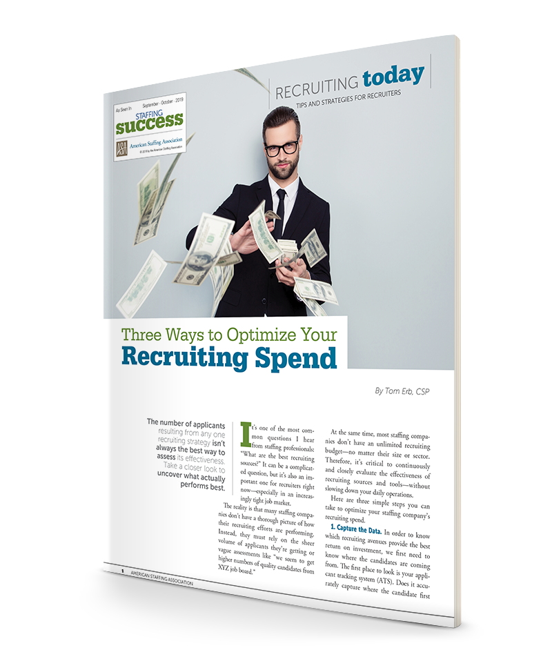 Three Ways to Optimize Your Recruiting Spend